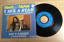 "7"" Mouth & McNeal I see a star Eurovision 1974 Holland EXC+"
