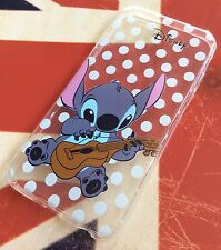 iPhone 6 6s Mobile Phone Soft Silicon Gel Case Lilo & Stitch Disney Xmas