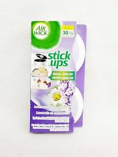 2 Air Wick Stick Ups Fresheners LAVENDER & CHAMOMILE Small Spaces (1 pack)