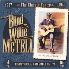 BLIND WILLIE MC TELL  1927 THE CLASSIC YEARS 1940  4 CD
