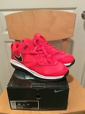 Nike Lebron 8 V/2 Low; Solar Red; DS; US 10