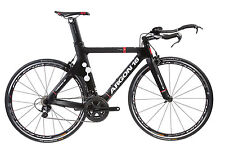 2015 Argon 18 Triathlon TT Road Bike USA-E-112 Shimano 105 Matte Black Large