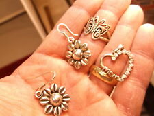 2015 MOTHER'S DAY SPECIAL... STERLING SILVER JEWELRY, RING-EARRINGS-MOM PENDANT