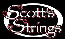 Scott's Strings Full Set Custom made Pretretched Compound Archery Hunting Bow