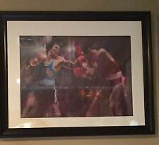 1983 Olympic Visions of Gold Boxing Robert Peak Litho Signed Numbered FRAMED!!!