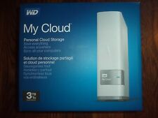 *NEW* White WD 3TB My Cloud Personal Network Attached Storage WDBCTL0030HWT-NESN