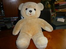 "Harrods 1988 Christmas Teddy Bear Foot Dated 13"" Eddie no clothes bare cuddly GC"