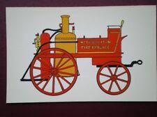 POSTCARD MODEL OF LONDON COUNTY FIRE ENGINE