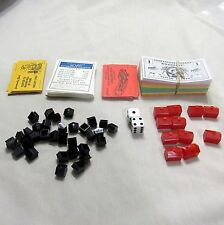 Monopoly Nascar 2007 Deeds Chance Community Chest Money Hotel House Pieces Parts