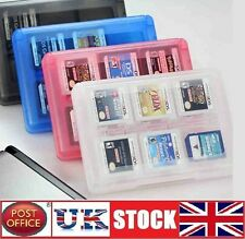24 DS game case support pour Nintendo 3DS DSi XL Lite DS bleu