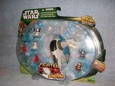 Slave I 1 Pack Fighter Pods Jango Fett Clone Trooper Obi-Wan Boba Series 4 New