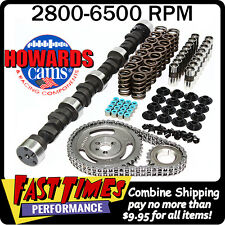 "HOWARD'S SBC Small Block Chevy Solid Flat Tappet 285/285 525""/525"" 106° Cam Kit"