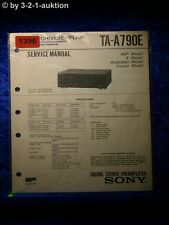 Sony Service Manual TA A790E Amplifier  (#1396)