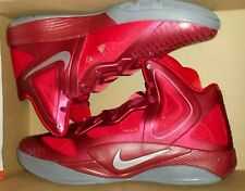 NWB!! Mens Nike Zoom Hyperfuse 2011 Basketball Shoes Size 13 Red Air Zoom