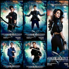"DY00769 Shadowhunters 2016 - Katherine McNamara Fantasy Movie 14""x14"" Poster"