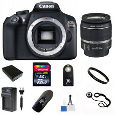 Canon EOS Rebel T6 18MP DSLR Camera + 18-55mm Lens + 32GB Accessory Kit