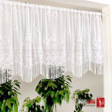 Home Door Kitchen Lace Sheer fringe Cafe Curtain 16021912 130 X 100 cm