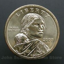 2007-D Native American Sacagawea Dollar $1 Choice BU Mint US Coin