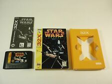 STAR WARS ARCADE - Sega 32X 32 X - COMPLETE Game - TESTED - !!!!