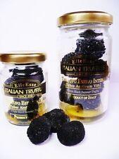Trüffel schwarze Sommertrüffel Tuber aestivum ganze Knollen 1A 35g Glas