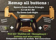 """Full Kit Remap board Ps4"" creer votre manette a palettes! Easy To Install"