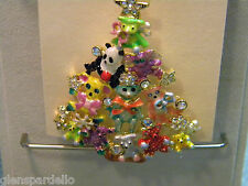 KIRKS FOLLY Teddy Bear Time Tree Pin Enhancer necklace or pin limited production