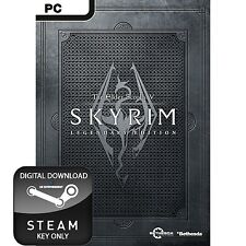 THE ELDER SCROLLS V 5 SKYRIM LEGENDARY EDITION PC STEAM KEY