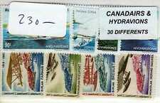 AVIONS CANADAIRS HYDRAVIONS 30 timbres différents