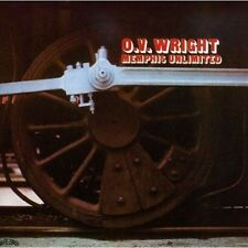 O.V. Wright - Memphis Unlimited - New Factory Sealed CD