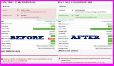 Clean Barred Blacklisted T-Mobile iPhone All IMEI Not Unlock PREMIUM SERVICE USA