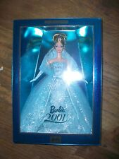 2001 BARBIE COLLECTOR EDITION Sea BLUE GOWN Highly Collectable