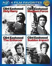 4 FILM BLU RAY DIRTY HARRY MAGNUM FORCE ENFORCER SUDDEN IMPACT FREE 1ST CLS S&H