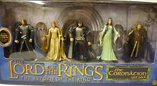 Lord of the Rings The Coronation Boxed Gift 5 Figure Set New from 2004 Toy Biz