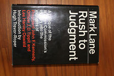 Rush to Judgment by Mark Lane- Signed