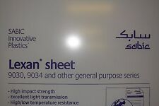 "POLYCARBONATE LEXAN SHEET CLEAR 1/2"" x 16"" x 8"""