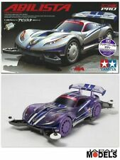 Mini 4wd PRO ABILISTA CLEAR PURPLE BODY (MA Chassis) Tamiya 95218 1/32 New Nuovo