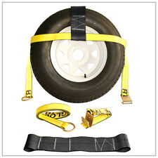 Master Tow Dolly Straps (2) Basket Rugged Weave DOT Y
