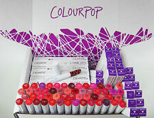 NIB 12PC AUTHENTIC COLOURPOP GLOSSY LIPPIE STIX MAKEUP COSMETICS ASSORTED SHADES