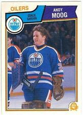 1983-84 OPC HOCKEY #40 ANDY MOOG - EX/EX+