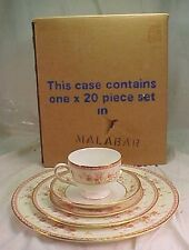 WEDGWOOD  MALABAR  Pattern 20 Piece Set  4 x 5 Piece Place Setting  NEW IN BOX