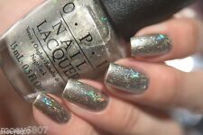OPI Starlight IS THIS STAR TAKEN? Gold w HOLOGRAPHIC Glitter Nail Polish Lacquer