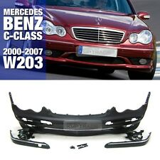 C32 AMG Style Front Bumper without PDC For Mercedes Benz 2000-2007 C Class W203