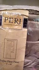 """Peri Homeworks Collection Goblet Pleat Panel Princess Taupe  35"""" X 108"""" - NEW"""