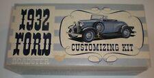 AMT '32 Ford Roadster Customizing Kit Plastic Model Car Kit