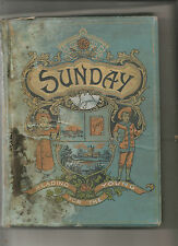 Sunday Reading for the young 1898 Illustrated London Wells Gardner DartonHardcov