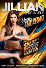 JILLIAN MICHAELS  - Yoga Exercise DVD - Yoga Inferno - 2 Workouts!
