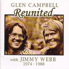 Reunited with Jimmy Webb by Glen Campbell (CD, Oct-1999, Raven)
