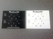 Rocksmith & Rocksmith 2014 Guitar Fret Number Stickers - One of Each    NEW