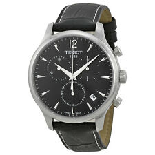 Tissot T Classic Tradition Chronograph Black Dial Mens Watch T063.617.16.057.00