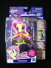 My Little Pony EQUESTRIA GIRLS Minis ROCKIN FLUTTERSHY poseable figure doll NEW